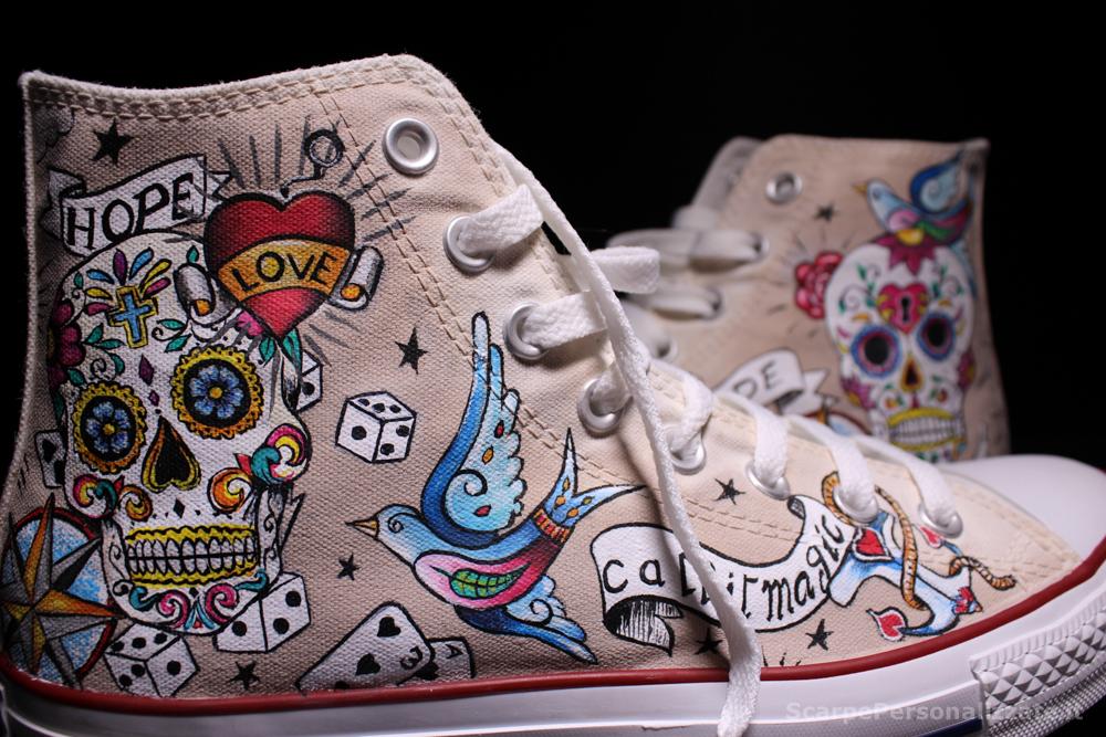 Converse-hi-personalizzate-teschio-messicano-tattoo-11