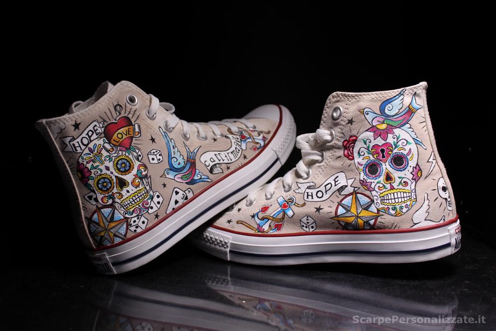 Converse-hi-personalizzate-teschio-messicano-tattoo-17