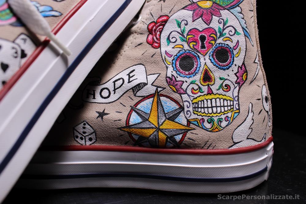 Converse-hi-personalizzate-teschio-messicano-tattoo-2