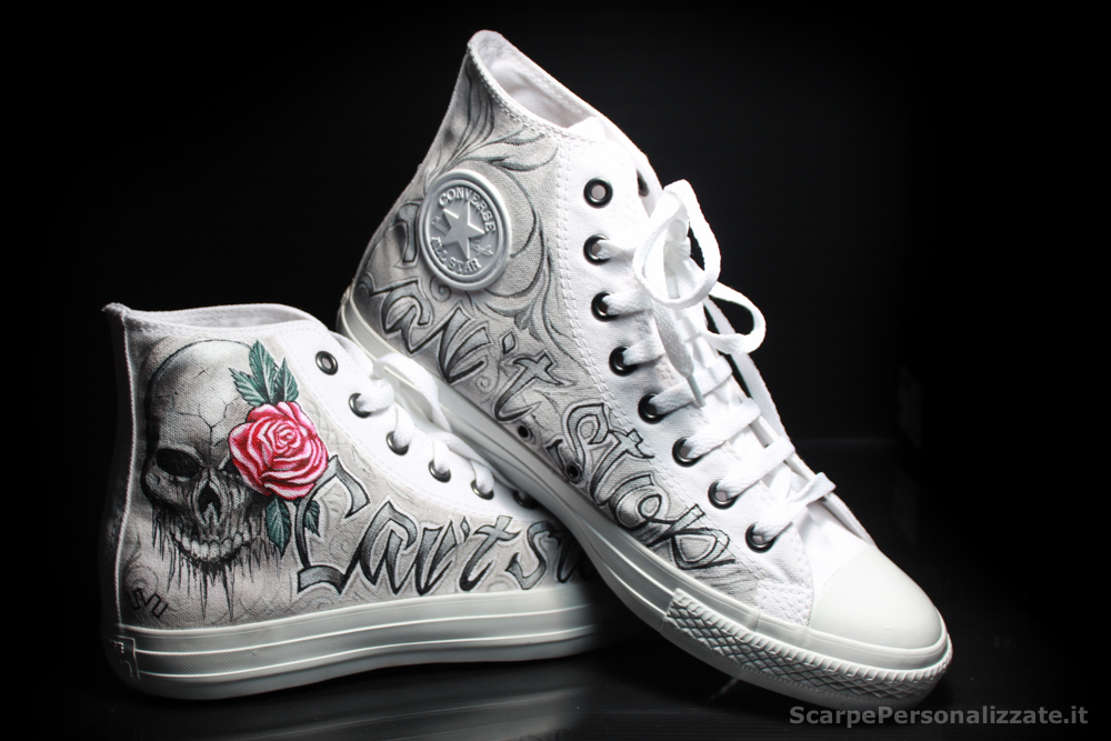 Converse Personalizzate Ink Art Tattoo
