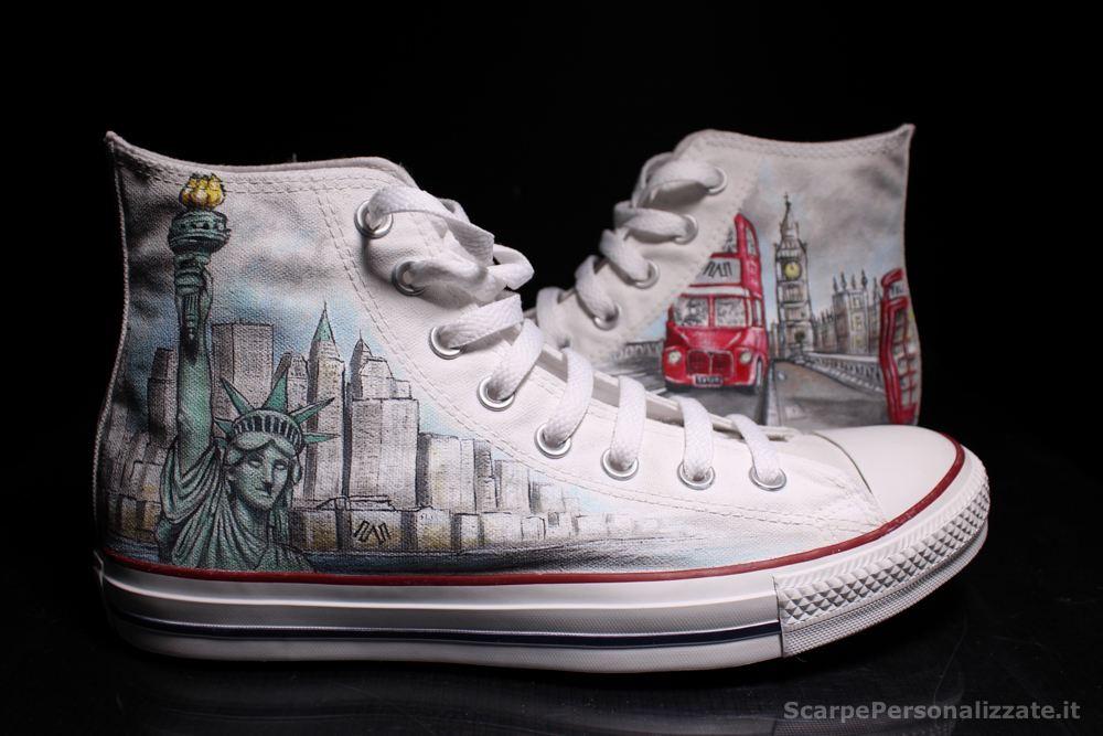 Converse Londra e New York