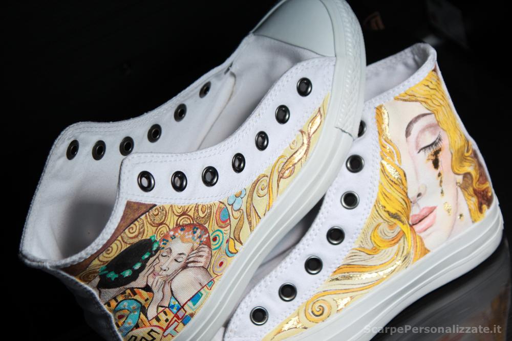 scarpe converse decorate
