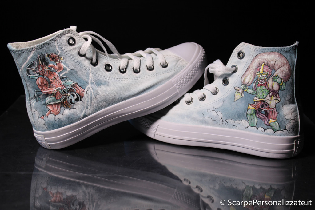 scarpe-personalizzate-dei-giapponesi-raijin-fujin-1