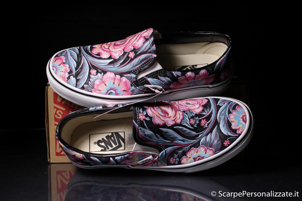 scarpe-personalizzate-vans-slip-on-trame-fiori-2