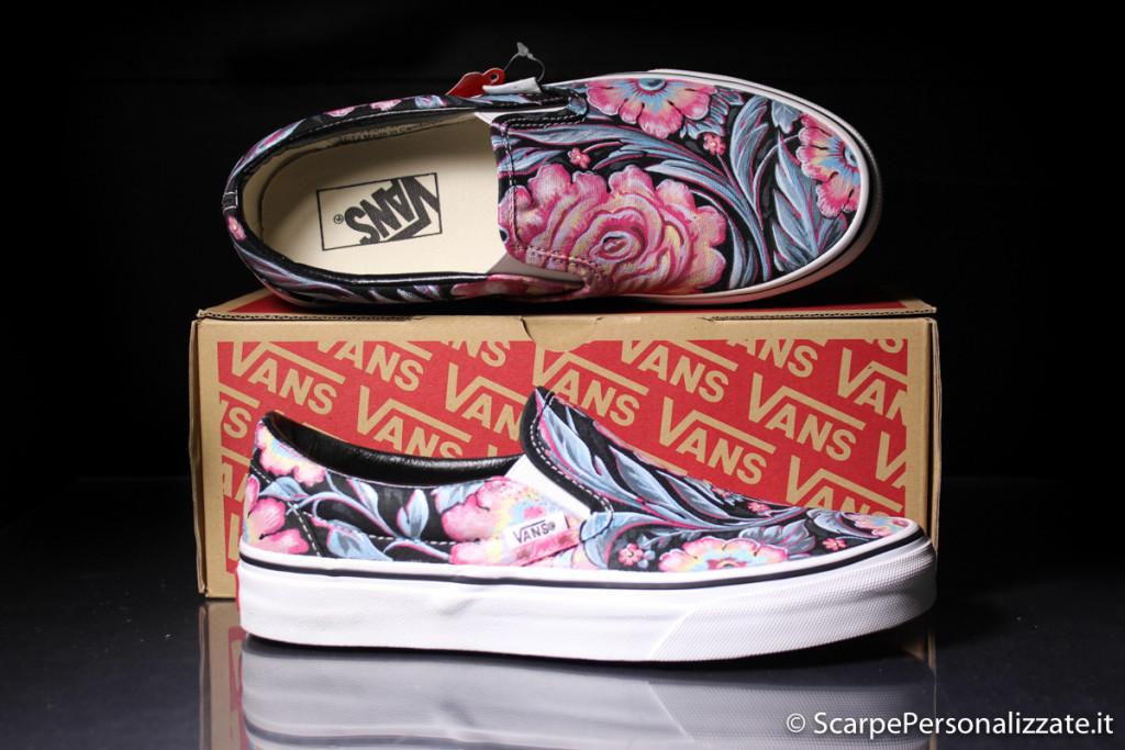 scarpe-personalizzate-vans-slip-on-trame-fiori-3