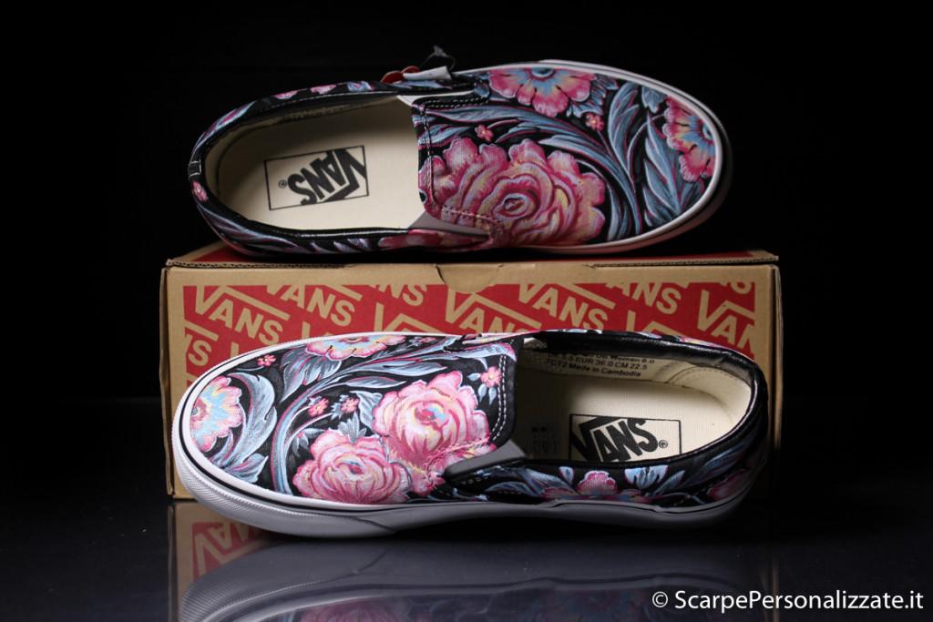 scarpe-personalizzate-vans-slip-on-trame-fiori-4