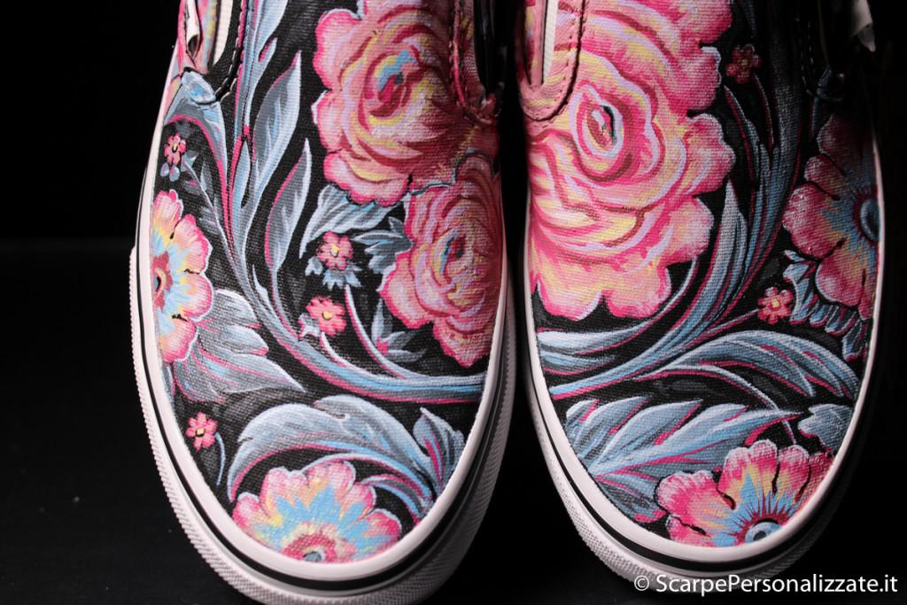 scarpe-personalizzate-vans-slip-on-trame-fiori-6