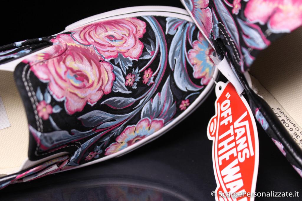 scarpe-personalizzate-vans-slip-on-trame-fiori-9