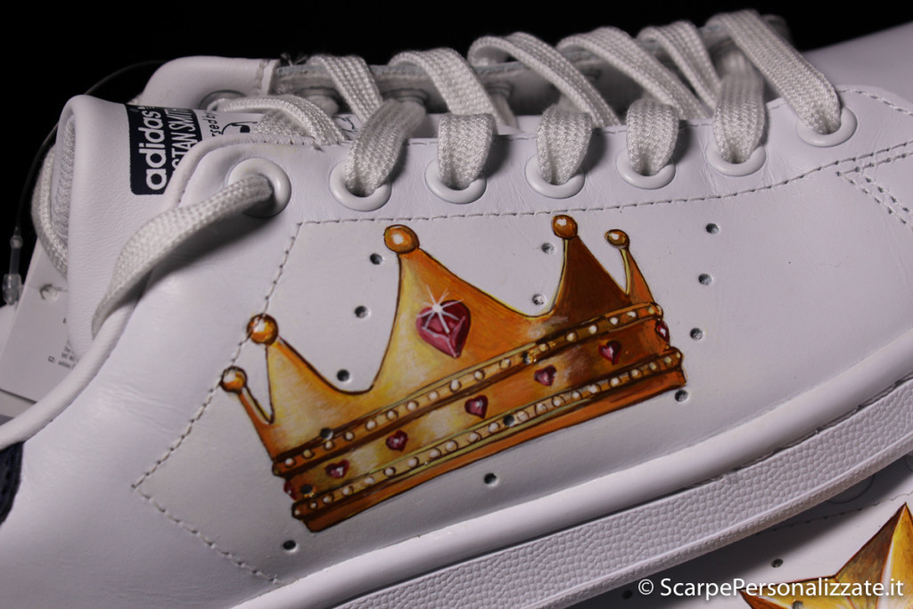adidas-stan-smith-personalizzate-corona-stella-2