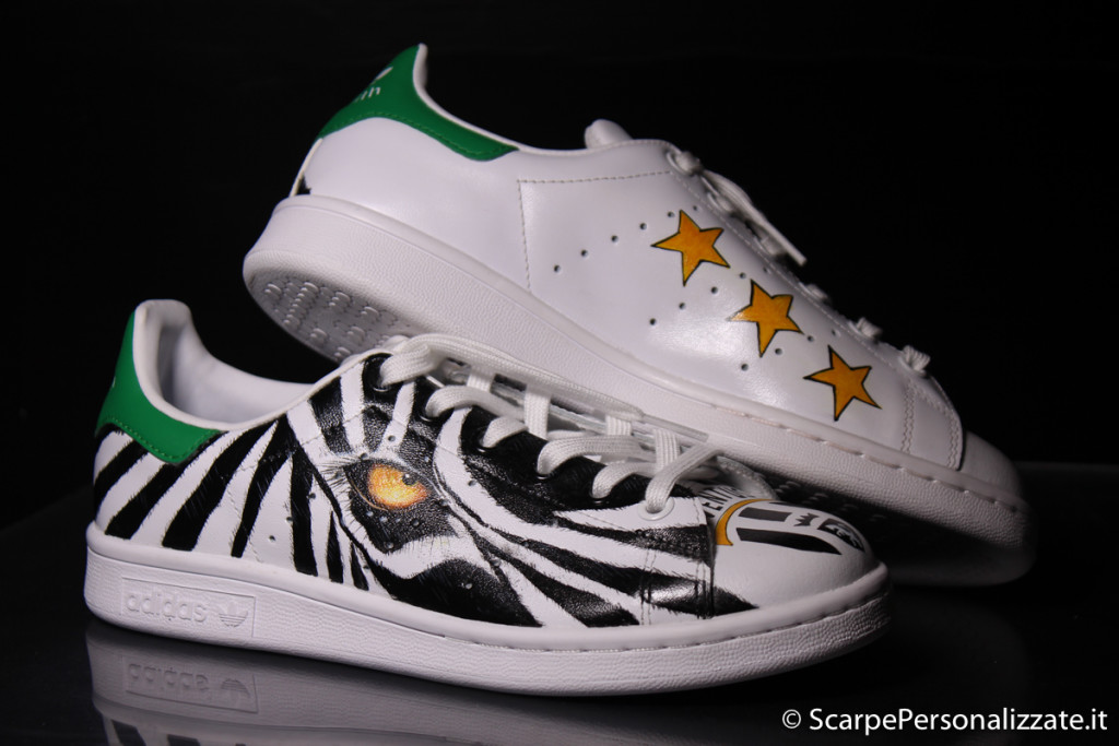 adidas-stan-smith-personalizzate-zebra-juventus-1