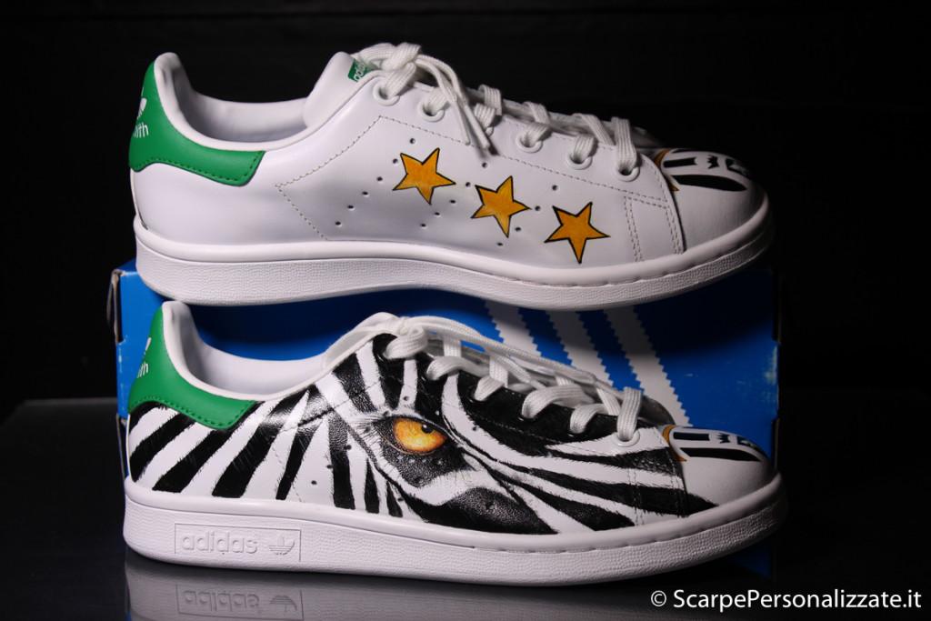 adidas-stan-smith-personalizzate-zebra-juventus-4 ...