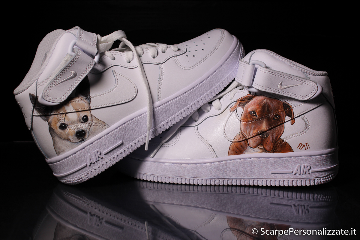 personalizza scarpe nike air force