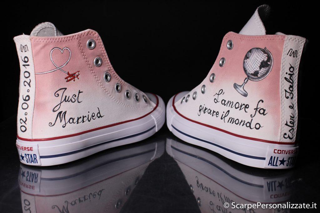 Matrimonio In Converse : Converse matrimonio sposa amore e viaggi scarpe