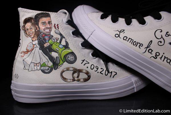 Scarpe personalizzate matrimonio sposa sposo – Scarpe